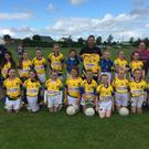 Brendan Creed of Direct Tyres (Newberry) presenting Kilshannig Ladies U10s with a new set of Kukri match jerseys. Brendan is based in Newberry and supplies,fits and repairs tyres at home, work or at the side of the road. 085 883 5709. Included in the photo with the team are trainers Tim Ring and Dominic Jenks, mentors Michelle McCarthy and Lisa Lucey, and Club Chairperson Pascal Ring