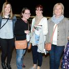 Kanturk Ladies Kathleen Winkle, Fiona O'Keeffe, Miriam O'Keeffe, Breeda Sheehan, Mary Leahy and Clare McKiernan supported the Kanturk GAA Night at the Dogs