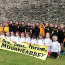 Mourneabbey U10s who have been selected to play at the All Ireland Final day half time exhibition games