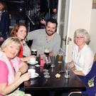 Enjoying the Craic at the O' Leary Clan Gathering held recently in Creedons Hotel, Inchigeela