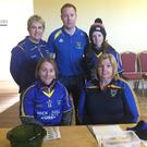 Neta Casey, Alan Gould, Ashling Healy, Marie Roche and Jo Timoney of the Kilshannig Ladies Football Club Fundraising Committee (some members missing) who recently organised a very successful Sponsored Walk in Bweeng
