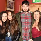 Evan Murphy, Eadaoin Murphy, Ashling Lenihan and Ellen O'Connor from Boherbue were at the weekend disco at Safaris, Newmarket