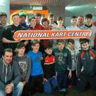 Banteer & Lyre GAA underage players marking their successful year with their end of year karting trip in NKC, which was sponsored by Kanturk Tyre Centre