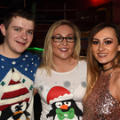 Enjoying a night out at the disco in Safaris Nightclub were Billy O'Donoghue, Mairead Coakley and Chloe Buicke, all from Rathcoole