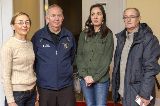 Pictured at the Ireland Ancient East information meeting at the Charleville Park Hotel were Finola Fitzgerald, Phillip O'Connell, Gemma O'Mahony and Ml. McGrath