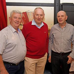 Participants in the Fight for Fionn concert at Freeemount were Dick O'Sullivan, John Murphy, Billy O'Brien and John Long.
