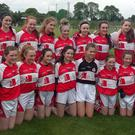 The Banteer ladies Under-14 football squad 2017
