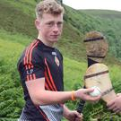 Cork Puc Fada champion 2016 Luke Philpott (Banteer) is part of the North Cork team in the Celtic Challenge Hurling Final in Carlow
