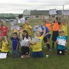 The Bweeng Celtic Under 9s who finished training this week