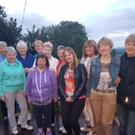 The Duhallow's Carers Group enjoying a night out at Laharn Cross last Sunday evening with the Chairperson of IRD Duhallow's Carers Group Sheila Crowley