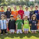 Young players who took part in Charleville Soccer Club's summer camp at Moatville grounds