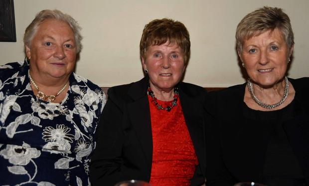 Esther O'Sullivan, Mary O'Sullivan and Noreen Finnegan enjoying the 21st birthday celebration of the Duhallow Vintage Club at Bob's Bar Kanturk