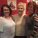 Eilis O'Callaghan, Neta Casey and Ester Ring, who ran the recent Kilshannig Ladies table quiz