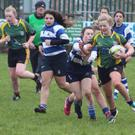 Mallow rugby girls in action recently