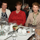 Sisters Margaret O'Keeffe, Rathcoole; Christine Brosnan, Liscarroll; Kathleen Hyde, Donoughmore; and Mary Cotter, Millstreet got together for Nollag na mBan in Millstreet