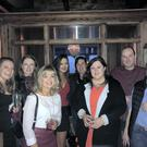 Awbeg Macra members Aisling Molloy, Helena Coughlan, Niamh Curran, Breda O'Keeffe, Aoife Ladd, Ellen Standish, Patrick O'Keeffe, Adrian Curtin in Killarney at the weekend for club officer training