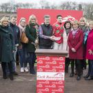 Doneraile's Jimmy O'Callaghan's colours were carried to victory at Cork Racecourse Mallow last Saturday when Bridies Boy, under the hands of Ambrose McCurtin, won the Beginners Steeplechase. Photo by Patrick McCann