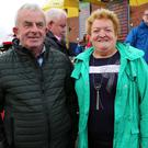 Ted and Doreen Fitzpatrick, Ballydesmond, supported the Marymount Race Day at Cork Racecourse Mallow.