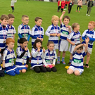 Killavullen U6s in jubilant mood after a great outing in the Rebel Óg Monster Blitz in Mallow recently