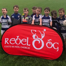 Killavullen's under-7s were in action in Pairc Ui Chaoimh on a very wet morning last Saturday