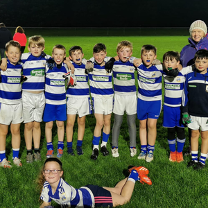 The Killavullen under 10 team that played in Thurles on Saturday last