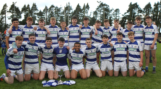 The Killavullen team who are the Cork County Hurling Division 2 champions 2019, after defeating Kilara Og on Sunday last