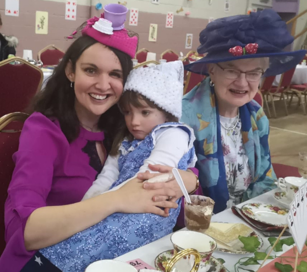 Mourneabbey ICA would like to thank all who attended the Mad Hatters Tea Party on Sunday in the Community Centre