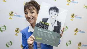 Patricia Messinger described her induction into the IMRO Radio Awards Hall of Fame as a 'truly humbling' experience.