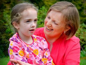 Vera Twomey and her daughter Ava who has Dravet's Syndrome
