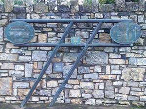 On August 1,2005, on the 35th anniversary of the tragedy, a bronze sculpture was unveiled at Buttevant Railway Station in the shape of two crossing train tracks alongside another plaque commemorating the names of those who died