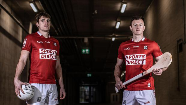 Cork stars Ian Maguire and Patrick Horgan pictured in Páirc Uí Chaoimh