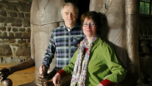 Husband and wife artist team, Liam Lavery and Evelyn Ring, who have been commissioned to create the new public artwork