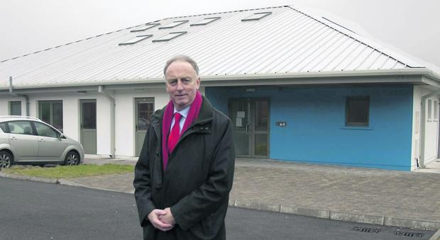 Mayor of Mallow Noel O'Connor at the youth centre at Ballyellis. Photo: Bernadette Hayes