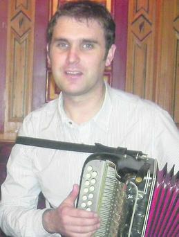 Sliabh Luachra accordion-player Paudie O'Connor.