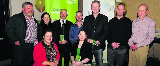 Millstreet Gathering organisers pictured with Matt Cooper and Alan Short. Photo: John Tarrant