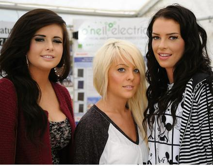 At the Show were Sarah McCarthy, Aislinn O'Dea and Aisling Thompson from Newtownshandrum.