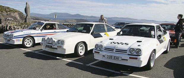 Some of the Opel cars that were on display at the recent, Ted's Opel Run 2013. Photo courtesy of Ted O'Connell