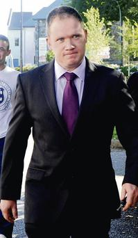 Richard Cullinane from Kanturk who appeared in Killarney Court on Tuesday. Photo: Michelle Cooper Galvin
