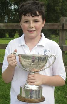 Congrats to Jack Healy, Cill na Martra, who recently won a first prize at the Fleadh Cheoil na hÉireann in the Amhráin Ghaeilge Fir under-12, Jack also came second in the English Singing under-12.