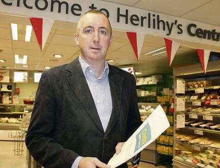 Kevin Herlihy of the Herlihy Group at the Millstreet Centra.