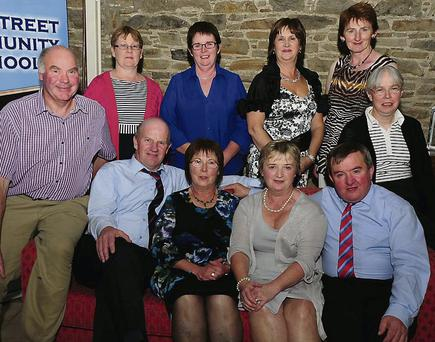 Bob Evans, Denis Twomey, Catherine O'Leary, Peg Tarrant, Pat Golden, Catherine Lyons, Joan Fitzgerald, Eilis O'Leary, Noreen O'Sullivan and Vera Twomey.