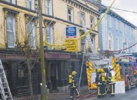 The Mallow Park Hotel was extensively damaged, twice, by fire.