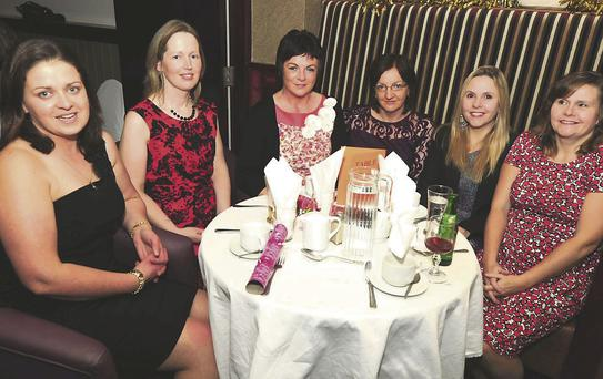 Part timers Muriel Cronin, Anne Marie Buckley, Noreen Kiely, Kate Twomey and Michelle Smith.