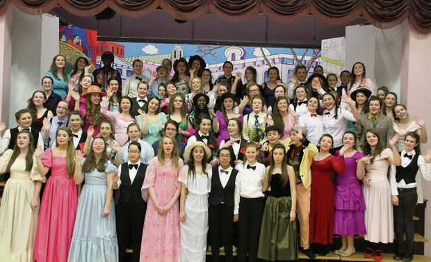 Pupils of St Mary's, Mallow will be performing the musical 'Hello Dolly' next Tuesday to Thursday in the Aemilian Theatre, Mallow.
