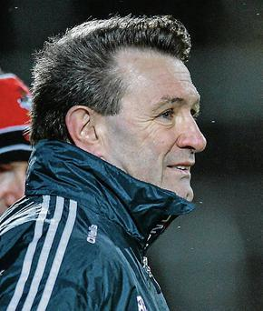 Cork manager Jimmy Barry Murphy. Picture: Matt Browne / SPORTSFILE