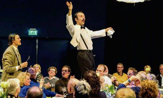 Fawlty Towers – The Dining Experience'.