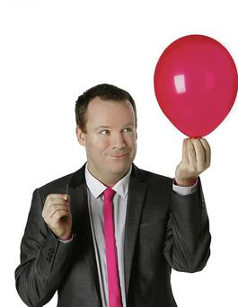 Irish comedians Neil Delamere, pictured, and Jason Byrne have both recently filed accounts.