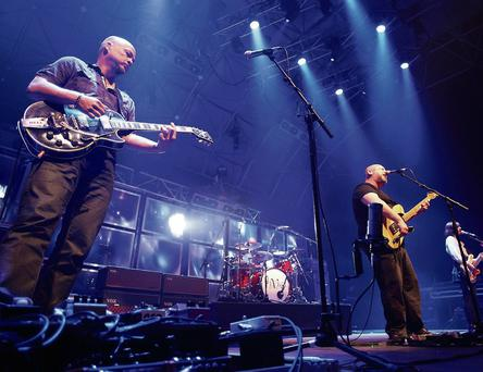 Pixies on stage at the Live at the Marquee, Cork. Photos: Miki Barlok.