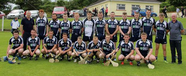 Laochra Óg Junior Bs, who lost to Randal Óg on Sunday. Photo: Courtesy of Nora ní Luasa.