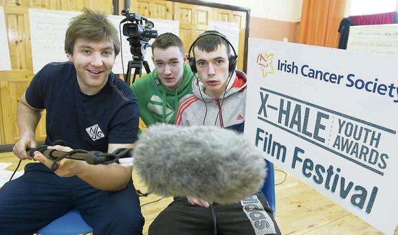 Courtney Canning, Jack Dineen and Myles O'Driscoill from Youthreach Macroom.